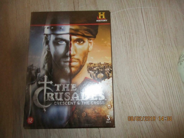 dvd box the crusaders
