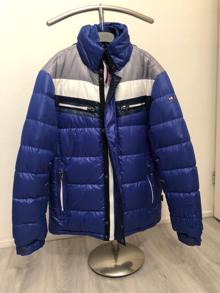 TWINLIFE APPAREL ASSOC Capuchon Winterjas (Kleur Blauw/grijs
