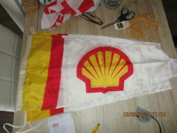3 x Vlag shell