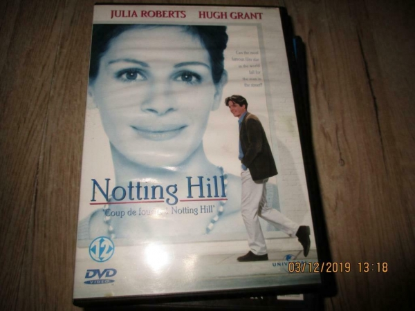 2 dvd`s notting hill en maid in manhattan
