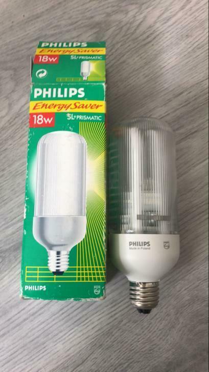 Philips genie energy saver 18w SL PRISMATIC