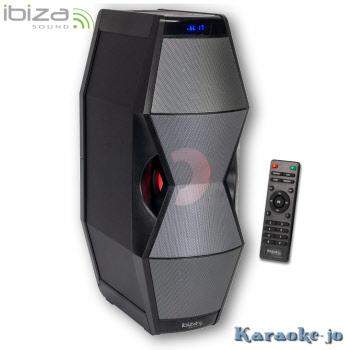 IBIZA SPLBOX450 Audiosysteem Usb/Sd/ Bluetooth/ FM