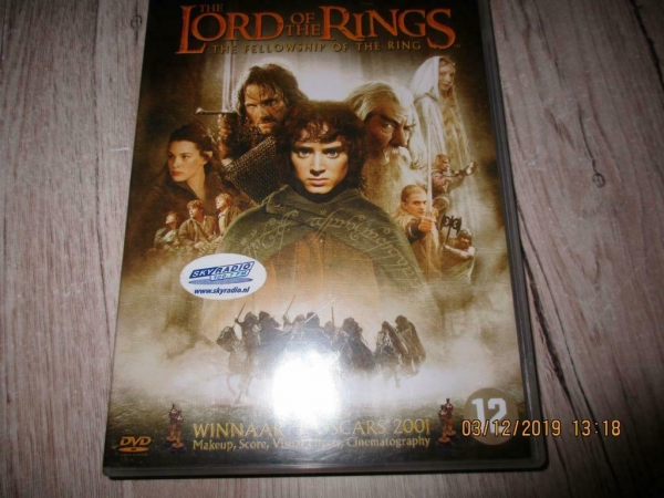 2 dvd`s lord of the rings