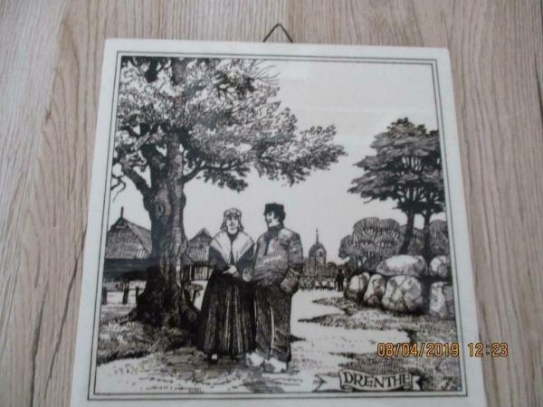 tegel schilderij Drenthe