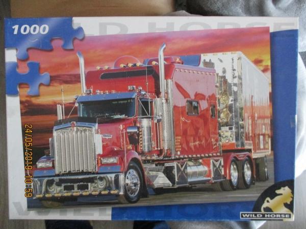 puzzel Amerikaanse vrachtwagen