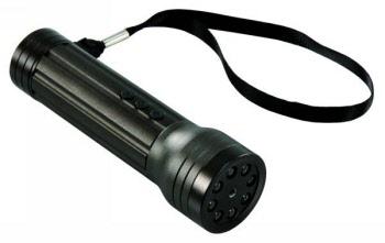 Zaklantaarn met Video Opname