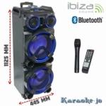 IBIZA-STANDUP-DJ-MKII Mobiele DJ box met Vhf Microfoon