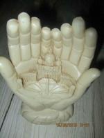 vereringsbeeld van Rome, in de vorm van 2 handen