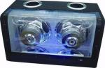 Subwoofer 1000 Watt blauwe Neon (115-D)