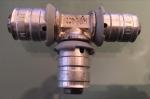 Uponor MLC T-stuk perskoppeling Ø16x14x14mm (12 Stuks).