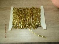 11,20 meter bevestiging ketting goudkleurig nieuw