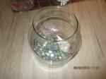viskom glas vierkant staaf model,inclusief bodem bedekking,