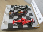 formule1 schaalmodellen schaal1:43 nieuw!! voor de race fans!! me