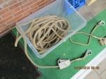 24 meter lengte oud antieke boot hennep touw en 20 mm dik di