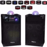 Karaoke speakers USB en SD met Astro Licht Effect (2073-B)