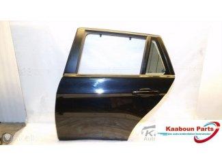 Deur / portier links achter zwart BMW 3 serie E91 2005 -2012