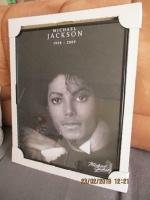 michael jackson schilderij in zwarte lijst nieuw 40 x 50 cm
