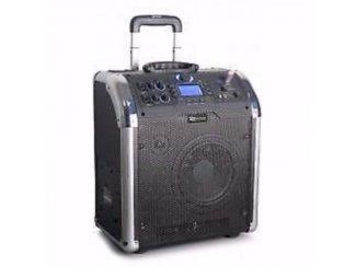 Mobiele Geluids installatie BT/MP3/USB/SD (123-T)