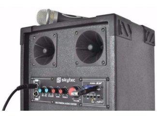 Actieve Karaoke speakers Usb ,Sd 300 Watt (444T)