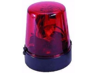 Zwaai licht met draaibare reflector ,Rood (001)
