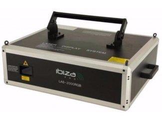 12 Kanalen Dmx ILDA Multi-Color Laser 2000mW