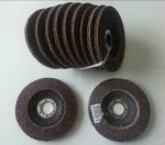 Lamellen schuurschijven Voor, flex 125 mm (11 Stuks).