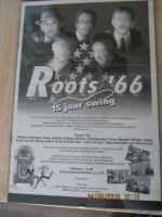 Voor de fans muziek band Roots 66 optreden poster origineel