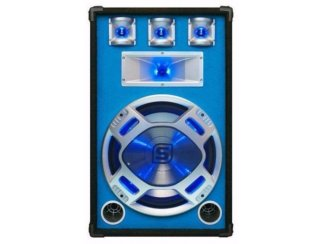 Disco speakers 15Inch 800Watt LED verlichting (506T)