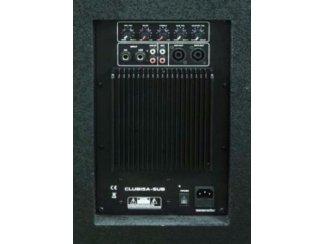 Actieve Subwoofer 15 Inch 38 cm 800/400 Watt (119B)