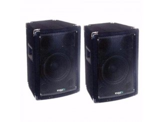 3-weg Bass Reflex discobox 150/300 Watt (100)
