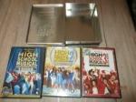 klassieker dvd box walt disney 3 delen high school zeldzaam