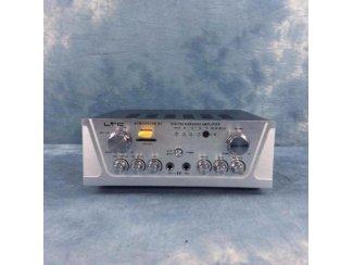 Stereo karaoke versterker met USB/SD/MP3 en BlueTooth