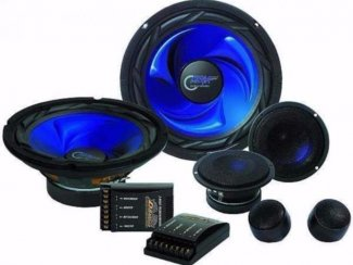 Compo Set 800 Watt 2 x 20cm Woofers met Crossover Filters