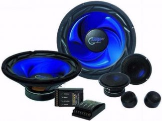 Compo Set 1000 Watt 2 x 25cm Woofers met Crossovers