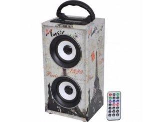 Freesound-Paris Oplaadbare speaker bluetooth Usb, Fm, Aux.