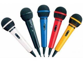Microfoon Kit met 5 kleuren van microfoons (G156KIT -KJ)