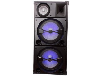 Discobox 3 weg 900Watt 2 x 15 inch bass (2129-B)
