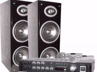 Complete Karaoke Set met USB Sd en Bluetooth (7016-B)