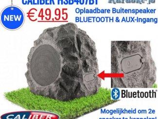 Caliber HSB407BT Rotsvormige luidspreker met Bluetooth,Aux.