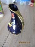decoratie vaasje hand gemaakt cobalt blauw 15 x 9 cm