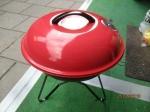 tafel barbecue, zeer mooi en handig diameter 38 cm en 42 cm