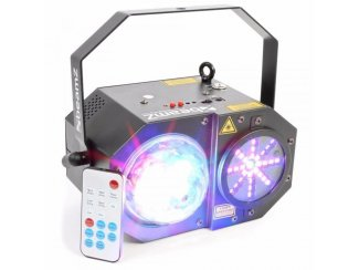BeamZ Sway LED Jellyball met Laser en LED Organ (717T)