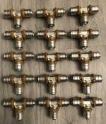 Uponor koppeling T stuk 16 x 16 x 16mm (15 Stuks).