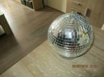 Disco spiegelbol met motor 22 cm winkel/internet adviesprijs