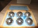 jeu de boules koffer compleet met spelregels en toebehoren