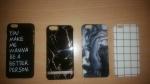 4 Stuks, iPhone 6 covers samen € 6,-