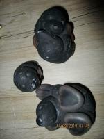 beeldjes set mollen 6 x 7 cm