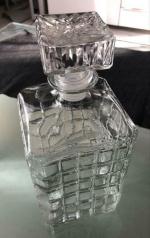 Whisky Karaf Glas inhoud 2 liter met unieke afsluitdop !