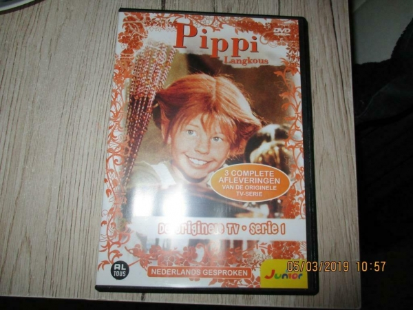 pipi langkous dvd, de originele TV serie 1