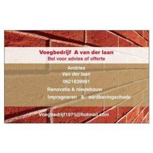 Voegbedrijf A Van der laan.